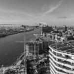 Drohnen Aufnahmen Service Hamburg Baudokumentation Baustelle Immobilien Bau